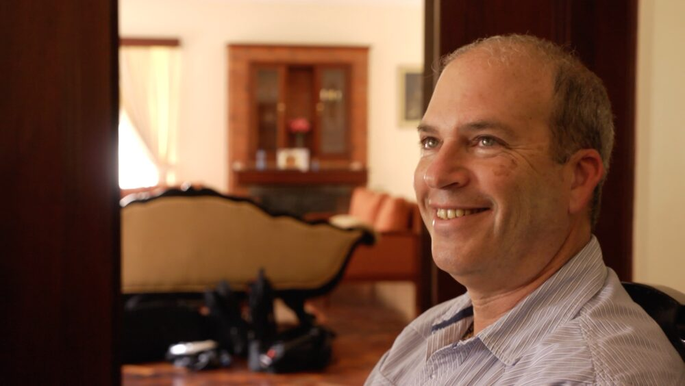 paul krystall during a when interview with david roy in nairobi kenya