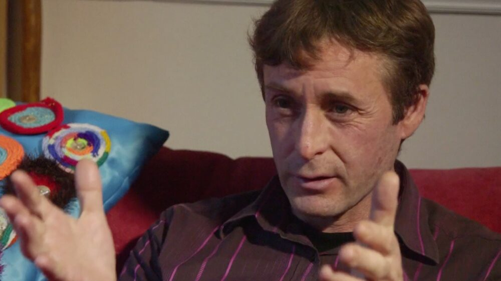 miguel dean during when interview with david roy in malvern uk