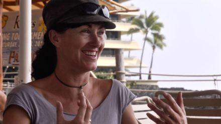 susan knight during a when interview with david roy in kona hawaii