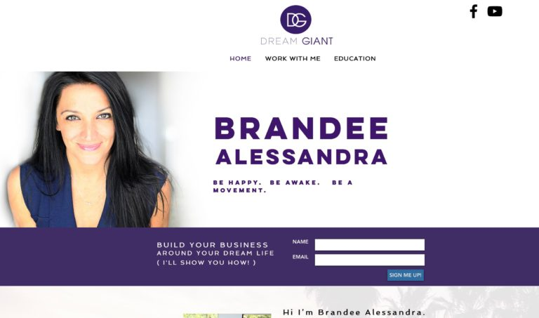 brandee alessandra dream giant website