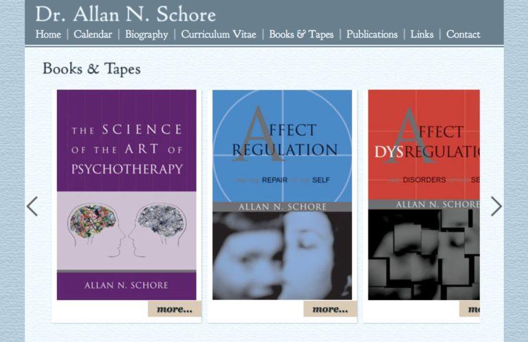 dr allan n schore books affect regulation