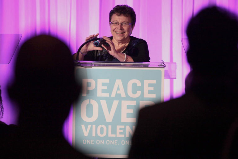 patti giggans of peace over violence in los angeles ca